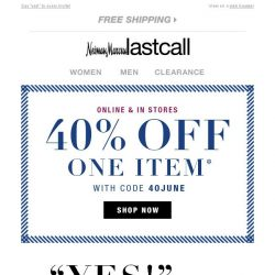 [Last Call] Pretty dresses for every occasion + 40% off 1 item