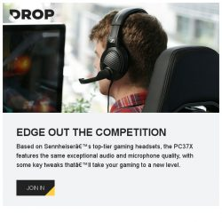[Massdrop] Our acclaimed PC37X gaming headset is ready to ship within 1 business day