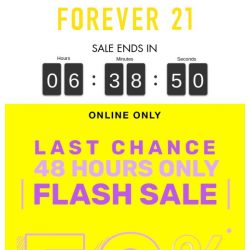 [FOREVER 21] YOU'RE MISSING OUT!!!