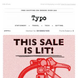 [typo] THIS SALE IS ON FIRE!!! 