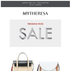 [mytheresa] Limited time free shipping + Trending pieces of the week