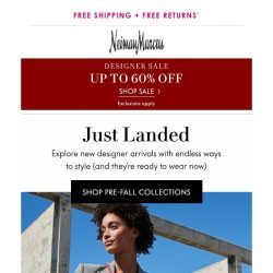 [Neiman Marcus] New styles just landed