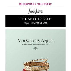 [Neiman Marcus] Van Cleef & Arpels: Expertly crafted jewelry