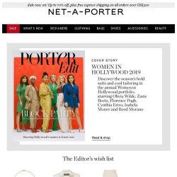 [NET-A-PORTER] Ultra-chic suits you'll wear on repeat
