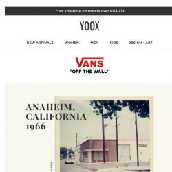 [Yoox] Vans: The return of the iconic Style 73 sneakers