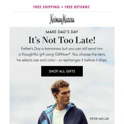 [Neiman Marcus] Need Father's Day gifts?