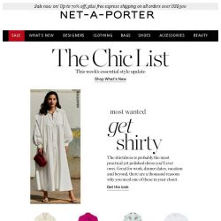 [NET-A-PORTER] The most practical yet polished dress you'll own