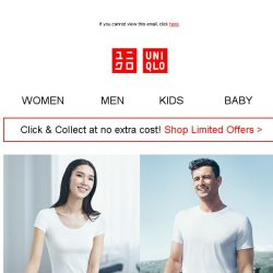 [UNIQLO Singapore] Express your love for comfort and deals!