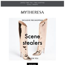 [mytheresa] Exclusive pre-shopping: Gucci, Balenciaga, Fendi... + limited time free shipping