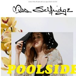 [Miss Selfridge] If you're gonna wear one thing to a pool party...
