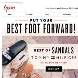 [6pm] The best of Tommy Hilfiger, Nike, Stuart Weitzman & More!