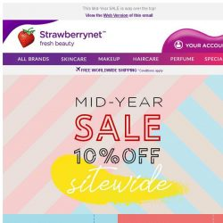 [StrawberryNet]  10% OFF SITEWIDE. It's GO Time