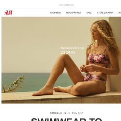 [H&M] Bikinis and swimsuits to love