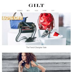 [Gilt] Up to 60% Off French Designers | Divine Heritage, Warm & Harper
