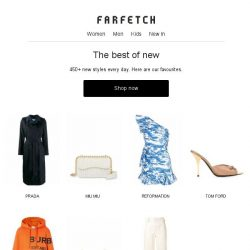 [Farfetch] 450+ new arrivals you have to see plus Sale