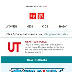 [UNIQLO Singapore] ONE PIECE is real! And it's finally here!