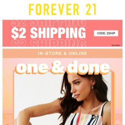 [FOREVER 21] WHEN YOU SAY JUMP-ER, WE SAY...