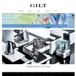 [Gilt] Breville & More | Up to 60% Off Yamazaki & More