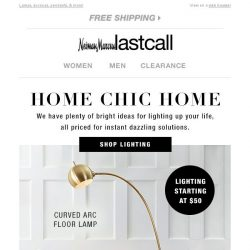 [Last Call] Home Chic Home: light up your life @ LastCall.com