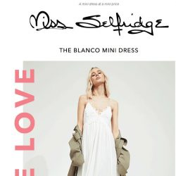 [Miss Selfridge] The £25 dress your wardrobe is missing...