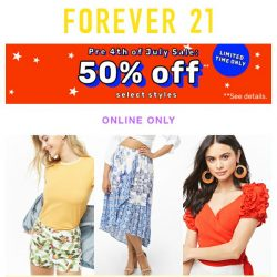 [FOREVER 21] !?! 50-70% OFF ?!?