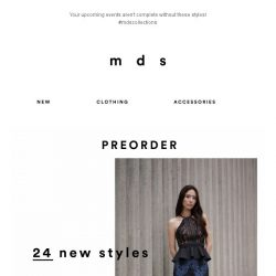 [MDS] Meet our new obsession!
