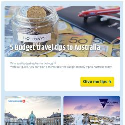 [cheaptickets.sg] 🖐 Keep these Australia budget travel TIPS at your fingerTIPS 🐨