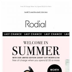 [RODIAL] LAST CHANCE: The Summer Beauty Gift ✨