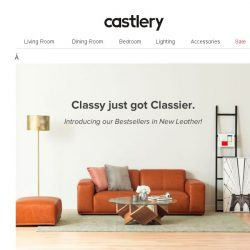 [Castlery] Our New Leather Range.