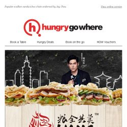 [HungryGoWhere] 1-for-1 Signature Sandwiches at $6.20 by Liang Sandwich