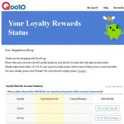 [Qoo10] [Qoo10.sg] Please redeem your rewards before they expire at the end of this month.