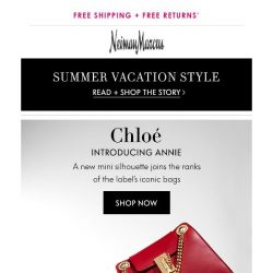 [Neiman Marcus] The new Chloe bag is here