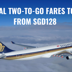 Singapore Airlines: Special Two-to-Go Fares to Asia from SGD128