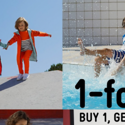 Petit Bateau: Buy 1 Get 1 FREE on Spring Summer 2019 Collection!