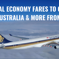 Singapore Airlines: Special Economy Fares to China, Japan, Australia, New Zealand & More from SGD128!