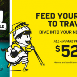 Scoot: Got to Go 2-Day Sale with All-In Fares from SGD52!