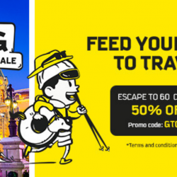 Scoot: GTG Sale with 60 Cities at 50% OFF!