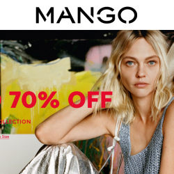 Mango: Enjoy Up to 70% OFF on Spring/Summer'19 Collection!