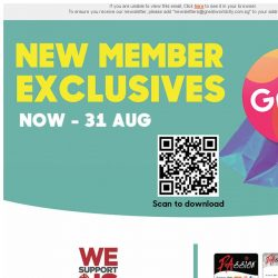 [Great World City]  Great V-aap Exclusive: Shopping Rewards from Now till 31 Aug