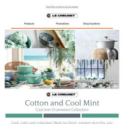 [Le Creuset] Le Creuset's July/August monthly promotions are here 🎉