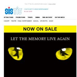 [SISTIC] Make new memories with Andrew Lloyd Webber's CATS!