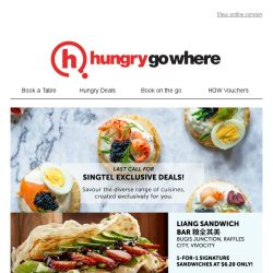 [HungryGoWhere] Last Call for Singtel Exclusive Dining Deals: 1-for-1 free flow Korean Buffet, 50% off Collagen Hotpot, and more