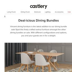 [Castlery] New Deal-icious Dining Bundle On Sale