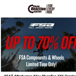 [Chain Reaction Cycles] 70% off FSA? 😲