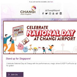 [Changi Airport] , fancy a gift by Changi Airport?