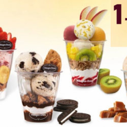 Häagen-Dazs: Enjoy 1-for-1 Parfait This Week!