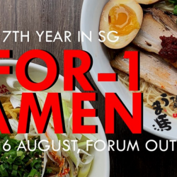 Uma Uma: Enjoy 1-for-1 Ramen at their Forum The Shopping Mall Branch!