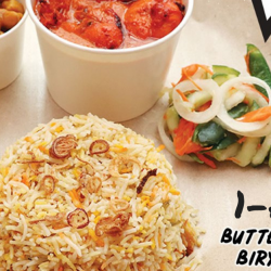 Prata Wala: Enjoy 1-for-1 Butter Chicken Biryani at All Prata Wala Outlets!