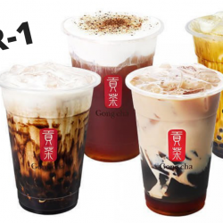 Gong Cha: Enjoy 1-For-1 Brown Sugar Earl Grey Milk Tea with Coffee Jelly with this Fave Deal!