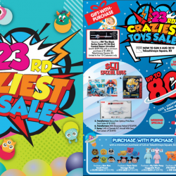 Takashimaya: Craziest Toys Sale with Crazy Deals on Toys from Hot Wheels, Paw Patrol, Sylvanian Families, Transformers, Tsum Tsum & More!